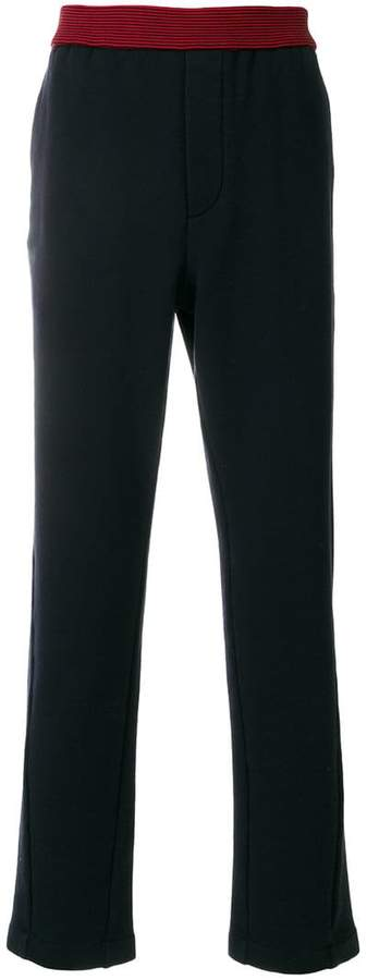 Marni contrast-trim track pants