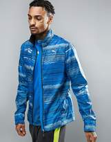 Puma Pr Graphic Windbreaker In Blue 51264591