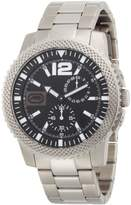 Ecko Unlimited Men's E13538G2 Silver Stainless-Steel Quartz Watch with Dial
