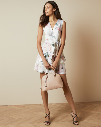 Ted Baker DEWANA Bouquet tiered skirt dress