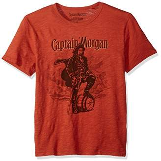 Lucky Brand Men's Captain Morgan Graphic TEE