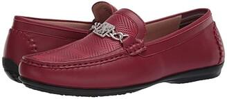 Stacy Adams Cygnet Moc Toe Bit Slip-On (Black) Men's Shoes