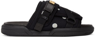 Visvim Black Christo Sandals