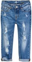 7 For All Mankind Skinny Crop & Roll Jean (Big Girls)