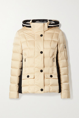 Bogner Giulia-d Hooded Layered Quilted Down Ski Jacket - Gold