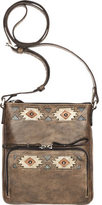American West Women's Native Sun Crossbody Bag/Wallet