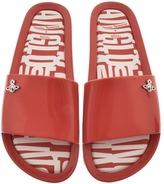 Vivienne Westwood X Melissa Slide Flip Flops Red