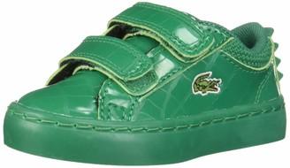 Lacoste unisex child Straightset Croc Spikes Sneaker