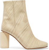Acne Studios Allis Patent-leather Boots - Neutral
