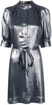 Zadig & Voltaire Zadig&Voltaire metallic shirt dress