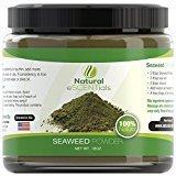 Seaweed Powder - 100% Organic Kelp Powder - Cellulite Treatment - Fresh Norwegian Ascophyllum Nodosum - FREE Recipes Included - Perfect For Body Wraps, Scrubs, Facials - 1LB