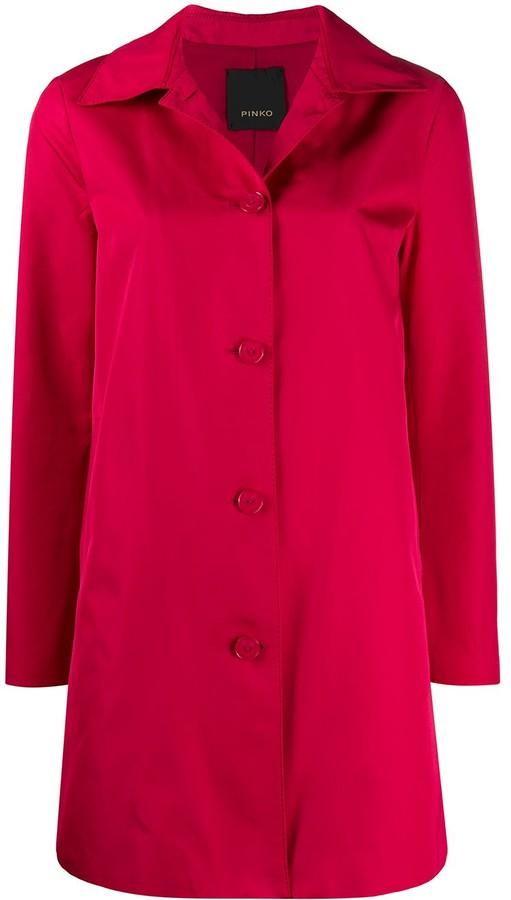 Pinko Button-Down Coat