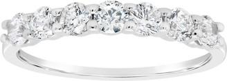 Affinity Diamond Jewelry Affinity 3/4 cttw Diamond 7-Stone Band Ring, 14K Gold