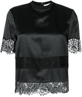 Givenchy lace embroidered blouse - women - Silk/Cotton/Polyamide - 40