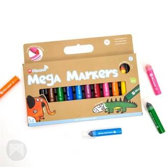 Micador Jr. Mega Markers 10-Pack