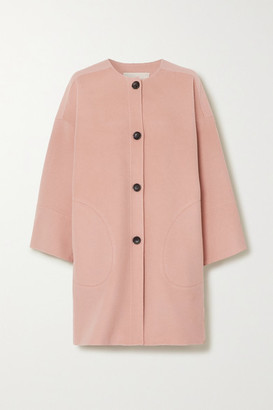 Vanessa Bruno Nash Wool And Cashmere-blend Felt Coat - Blush