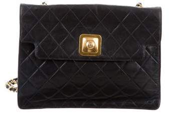 Chanel Quilted CC-Lock Flap Bag