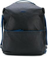 Furla front pocket backpack - men - Leather - One Size