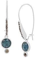 Kenneth Cole New York Crackle Stone Drop Earrings