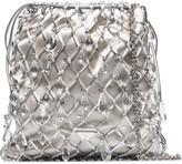Prada Crystal-Embellished Crossbody Bag