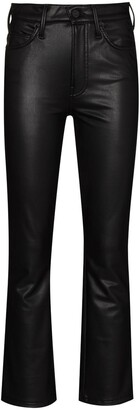 Mother The Insider faux-leather trousers