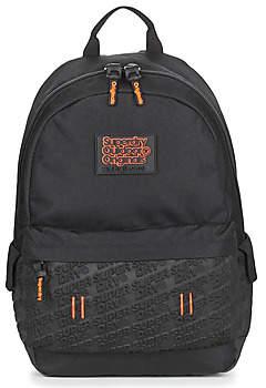 Superdry NEOPRENE EMBOSS PANEL MONTANA women's Backpack in Black