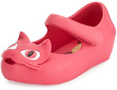 Mini Melissa Mini Ultragirl II Cat-Face Jelly Mary Jane, Sizes 5T-10T