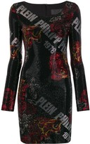 Philipp Plein embellished mini dress