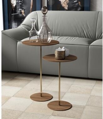 Modloft Dey 18in. Side Table in Walnut
