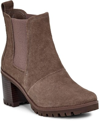 UGG Hazel Waterproof Block Heel Bootie