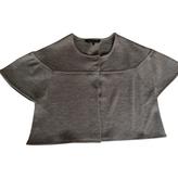 BCBGMAXAZRIA Grey wool cardigan