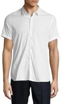 The Kooples Cotton Spread Collar Sportshirt
