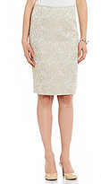 Preston & York Kelly Jacquard Pencil Skirt