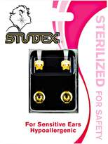 Studex Cubic Zirconia Gold Plated Regular Piercing Earrings