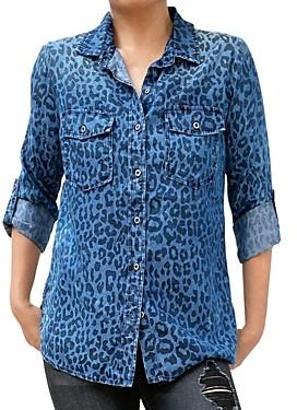 BILLY T Lightweight Classic Button Down Shirt