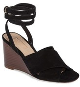 Topshop Women's Whirl Cross Strap Wedge