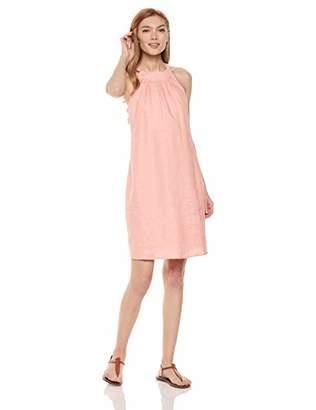 28 Palms 100% Linen Halter Shift Dress Casual,(EU 2XL)