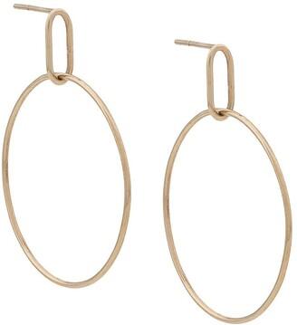 3.1 Phillip Lim Origin 9kt yellow gold medium Hoola hoop earrings