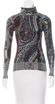 Etro Embellished Silk & Cashmere-Blend Sweater