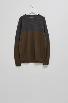 French Connection Felted Colour Block Jumper