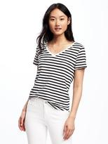 Old Navy EveryWear Relaxed Curved-Hem Tee for Women
