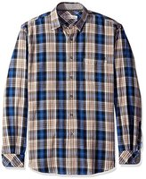 James Campbell Men's Peoria Long Sleeve Plaid