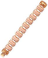 Lauren Ralph Lauren Gold-Tone Stone Link Bracelet