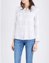 The White Company Check-pattern cotton shirt