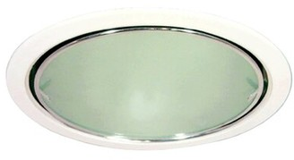 """clear Royal Pacific Reflector 8"""" Recessed Trim Royal Pacific Finish"""