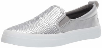 Sperry womens Crest Twin Gore Woven Emboss Sneaker