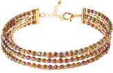 Fragments for Neiman Marcus Five-Row Seed Bead Choker Necklace, Multi