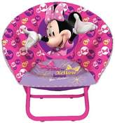Disney Idea Nuova Minnie Mouse Mini Saucer Chair by Idea Nuova