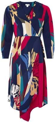 Monsoon Nalani Print Midi Dress