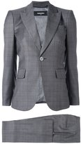 DSQUARED2 London checked three-piece suit